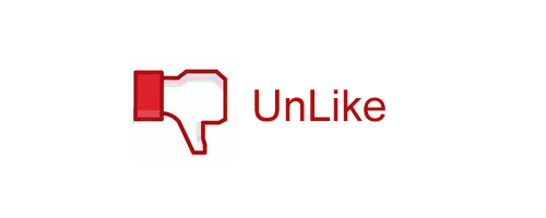 facebook unlike red