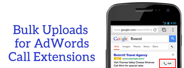 adwords call extensions header