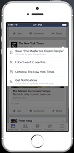 Facebook Launches Save and Why it is Good for Facebook Pages