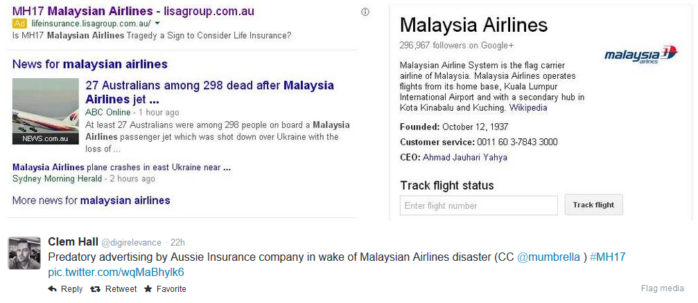 malaysia air ppc twitter