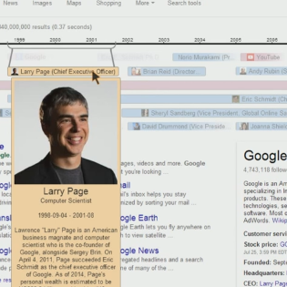 Google Testing New Timeline Knowledge Graph