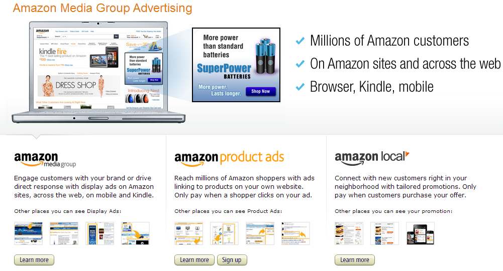 Amazon Launching Their Own Online Advertising Program