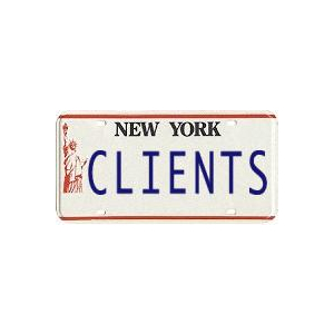 "Why Marketers Should Have ""CLIENTS"" Vanity Plates"