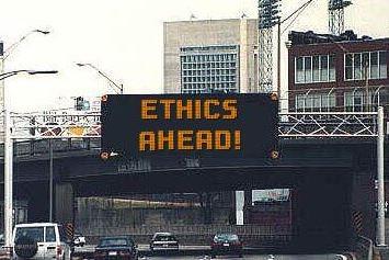ethics ahead