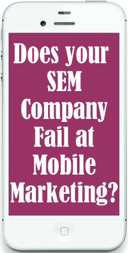 fail mobile marketing
