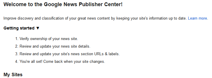 google news portal