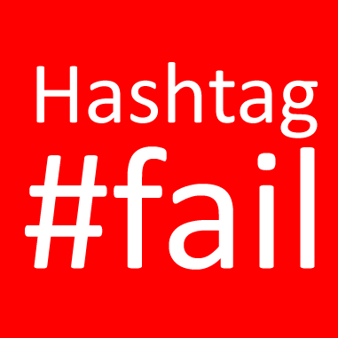 What Marketers Can Learn From These Hashtags Fails