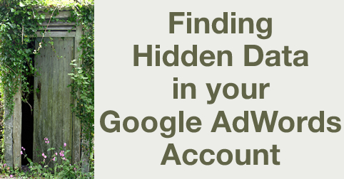 hidden adwords data