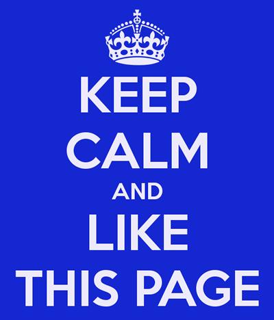 keep calm facebook