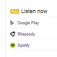 Google Testing Music Pay Per Click Ads in Knowledge Graphs