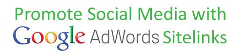 social media sitelinks
