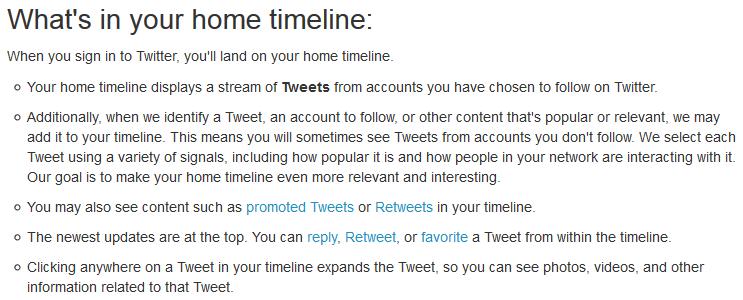twitter timeline new