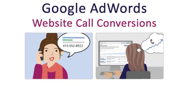 Google Adwords Website Call Conversions