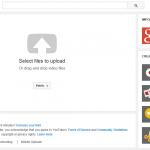 youtube google plus upload