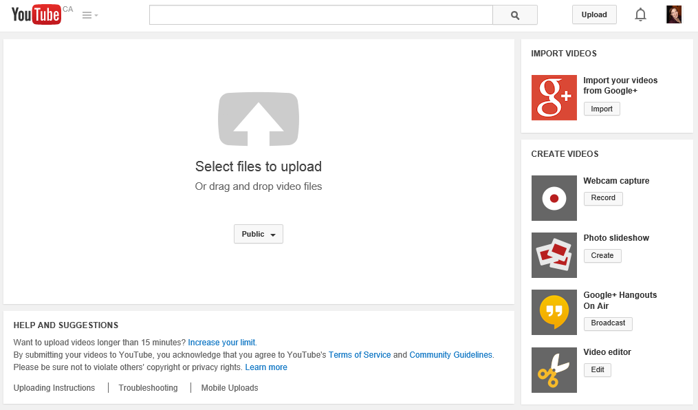 New YouTube Feature Allows Uploading of Google+ Videos