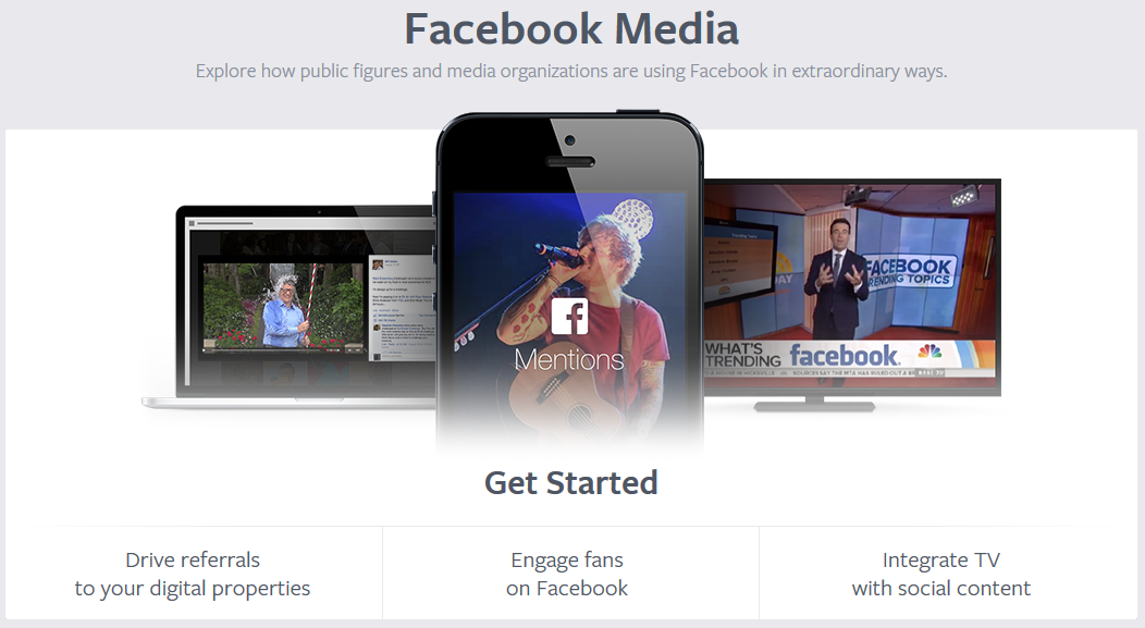Facebook Launches New Facebook Media Portal