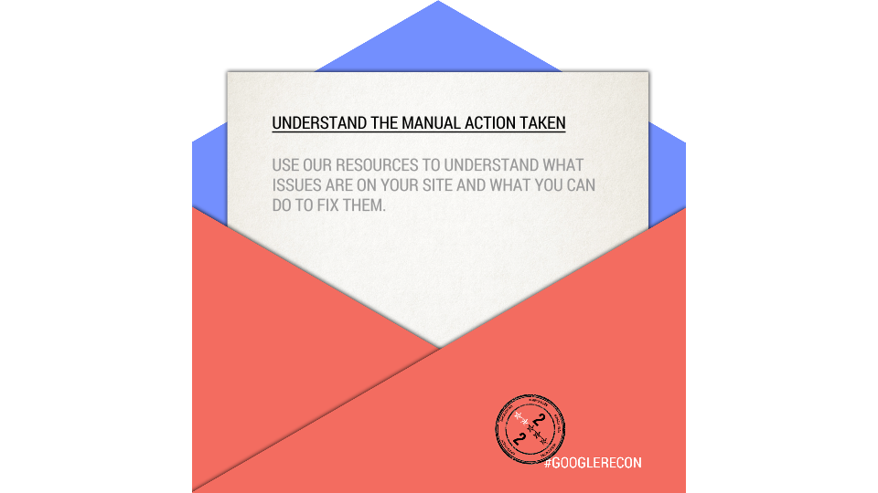 Google Reconsideration Tips: Understanding the Manual Action