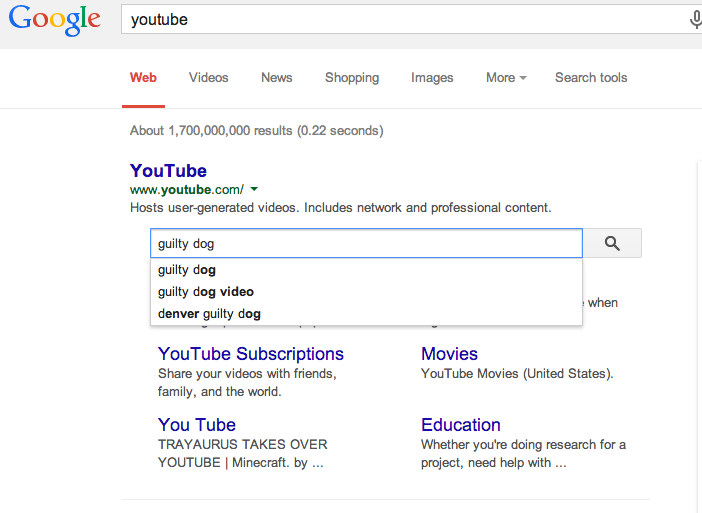 Google Introduces New Search Box Within Sitelinks In