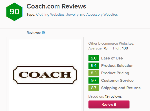 coach reviews 2