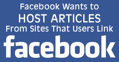 facebook host articles