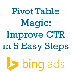 Pivot Table Magic: Improve CTR in 5 Easy Steps