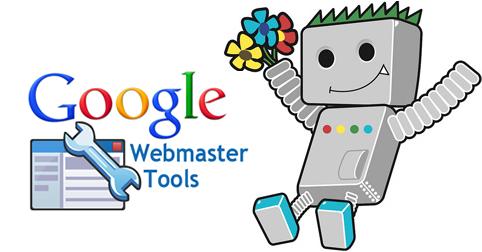 google webmaster tools header