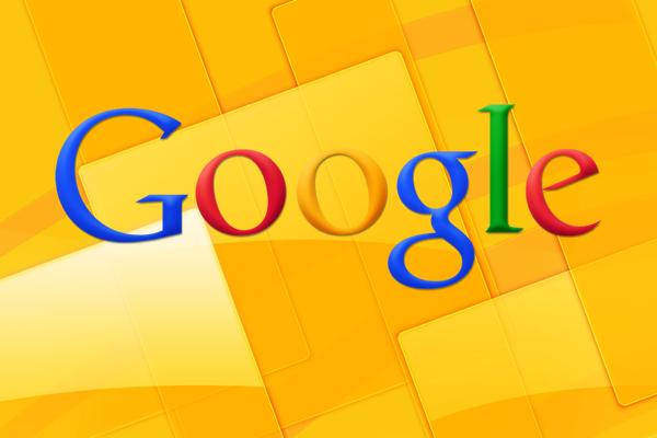 google logo yellow
