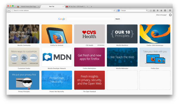 Mozilla Firefox Will Display Ads on Homepage & New Tabs