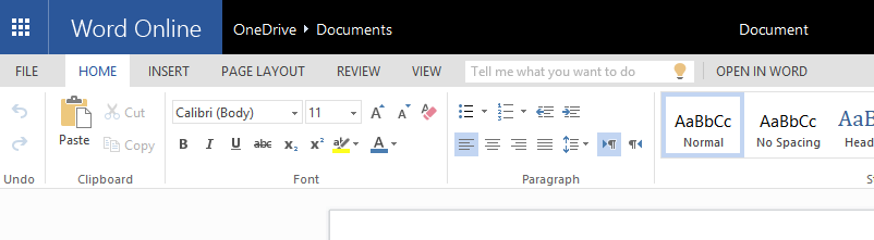 Bing Search Added to Microsoft Word Online as Insights for Office