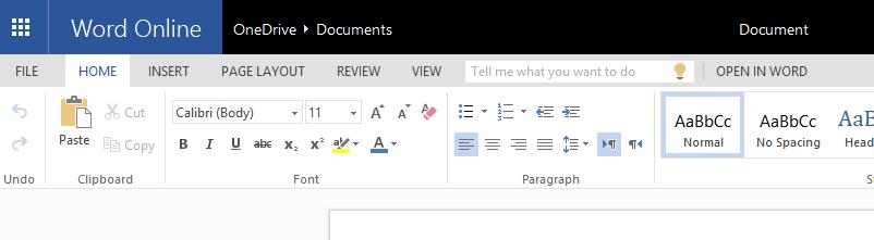 open document online