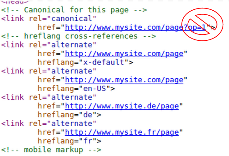 Google Alerts Webmasters About Issues hreflang and rel=canonical URLs
