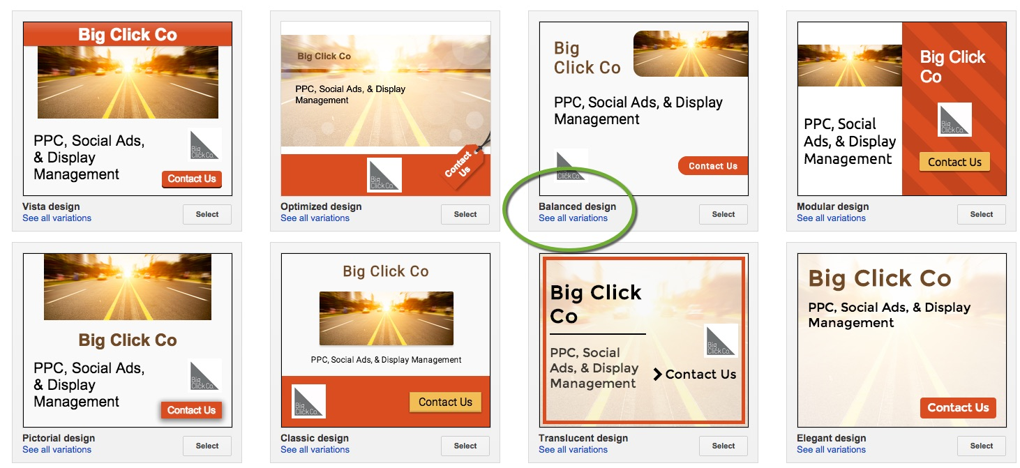 Design for banner ads - Imageadtools1