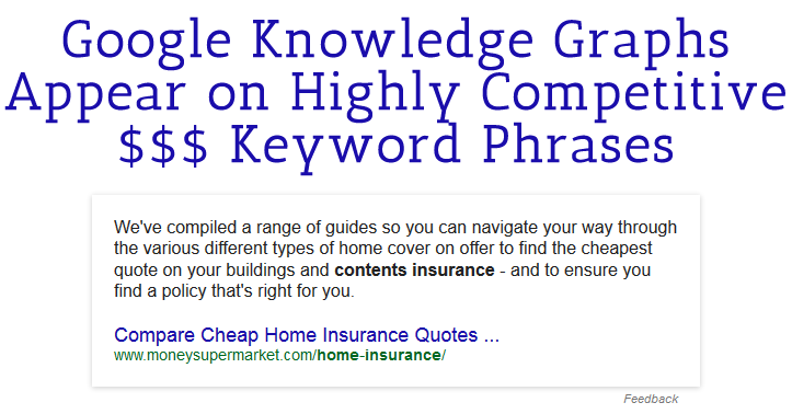 knowledge graph spam header