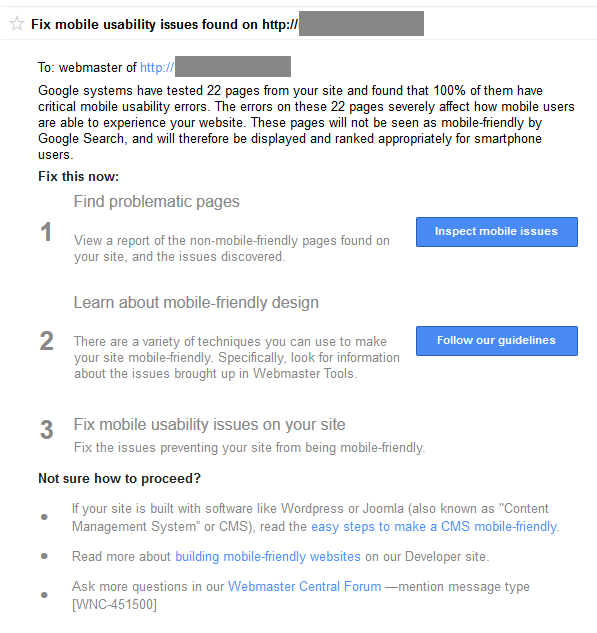 Google Continuing to Send More Warnings about Non-Mobile-Friendly Websites to Webmasters