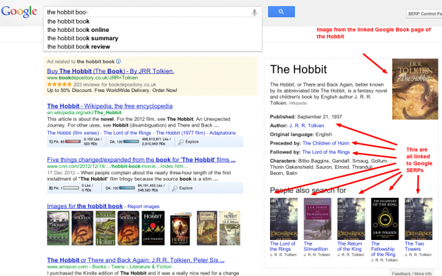 old book knowledge graph