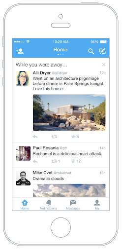 "Twitter Launches ""While You Were Away"" to iOS with Android & Desktop Coming Soon"