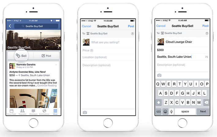 Facebook Takes Aim at Craigslist & eBay with New Sales Features for Groups