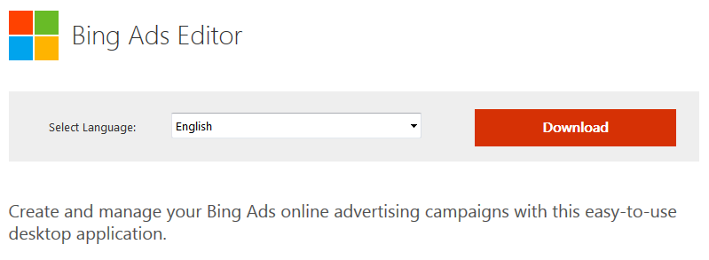 Bing Ads Ending Support for Bing Ads Editor 10.4 & Older on March 31st