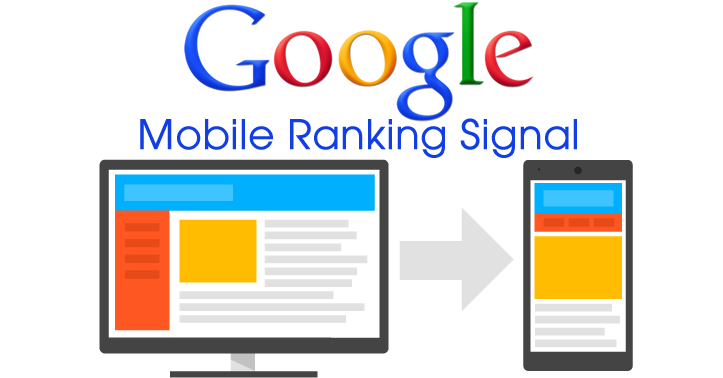 google mobile ranking header