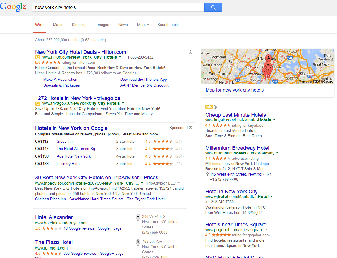 Google Adds Hotel Information To City Knowledge Graphs In