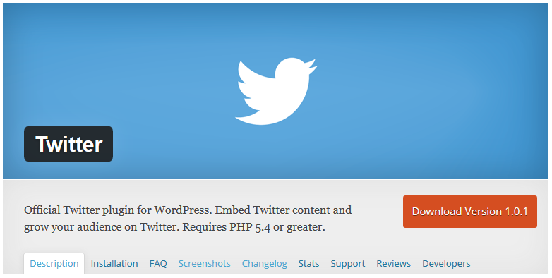 Twitter Finally Releases Official Twitter WordPress Plugin