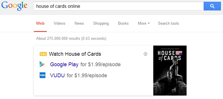 Google Running New Ad Knowledge Graphs for Illegal Download Type Searches