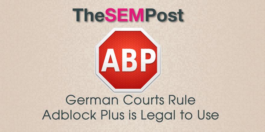 adblock legal