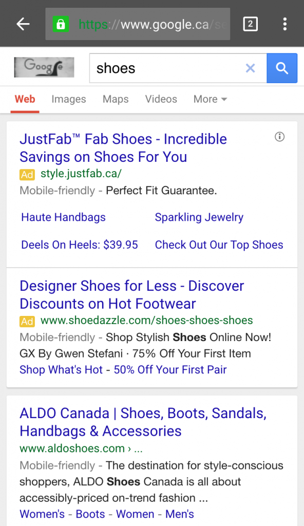 adwords mobile friendly 5