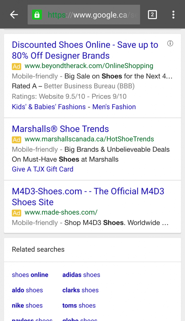 adwords mobile friendly 6