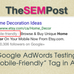 adwords mobile friendly header