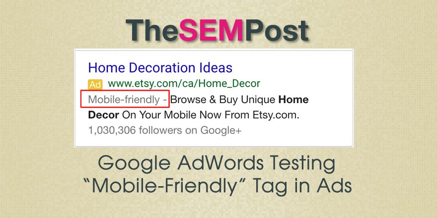 adwords mobile friendly header