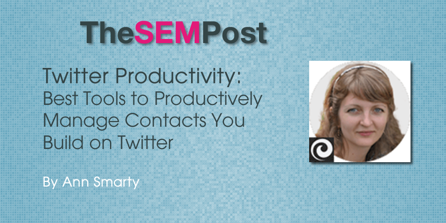 ann smarty twitter productive