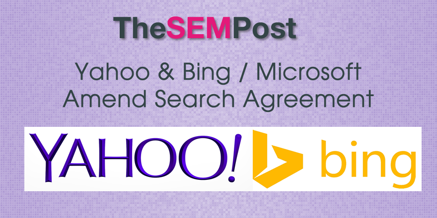 bing yahoo agreement