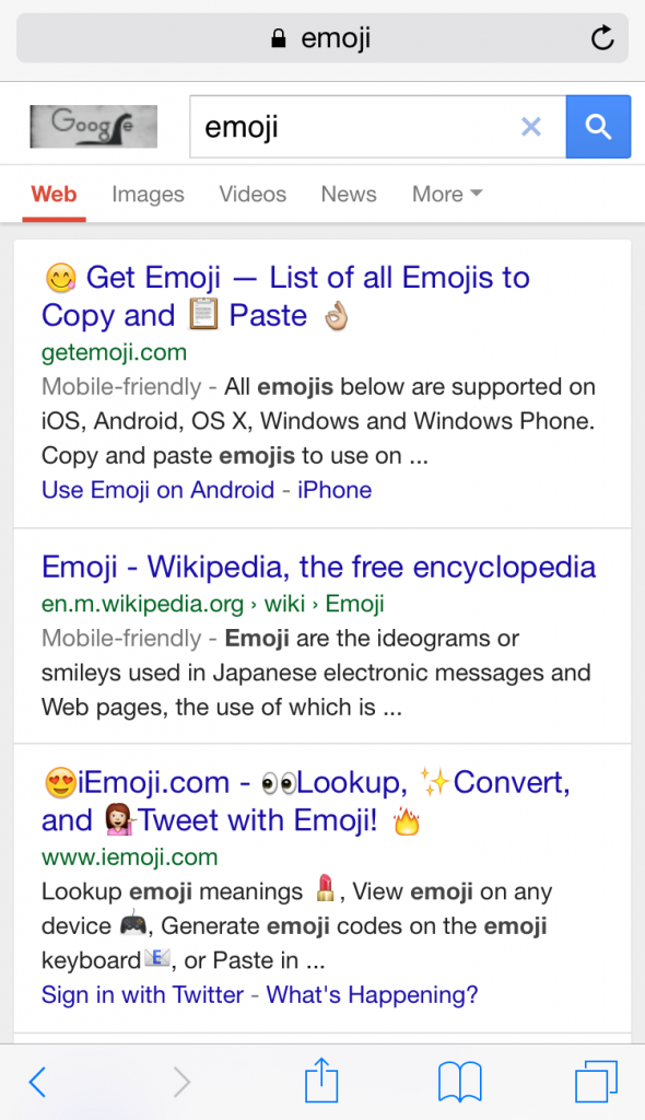 emoji mobile